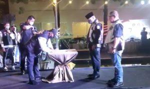 Ketua Umum HDCI Pusat Irjen Pol.Teddy Minahasa Putra, melantik Pengurus HDCI Pengda Lampung, Pengcab Bandarlampung dan Pengcab Metro. Foto : tangkapan layar referensirakyat.co.id